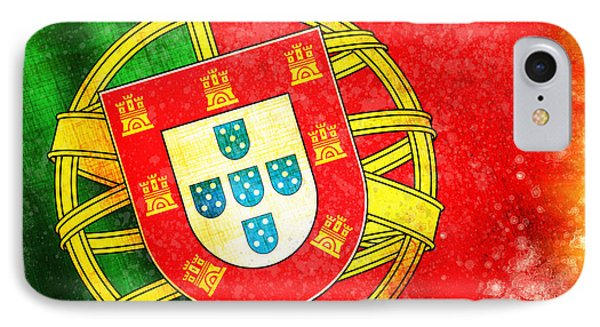 Portugal Flag  Phone Case by Setsiri Silapasuwanchai