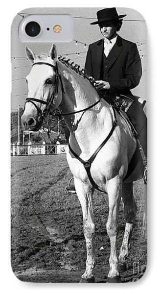 Portuguese Horse Rider Phone Case by Gaspar Avila