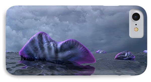 Portuguese Men-of-war, Artwork Phone Case by Walter Myers