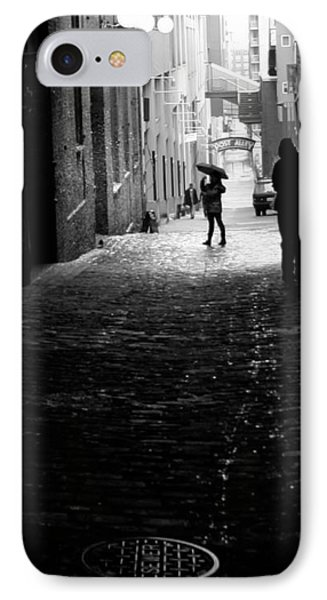 IPhone Case featuring the photograph Post Alley by Mitch Shindelbower
