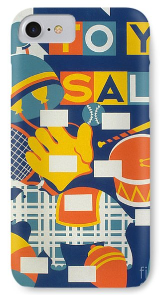 Poster: Toys, C1940 Phone Case by Granger