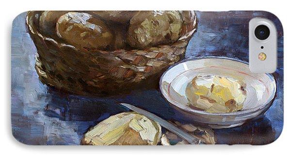 Potato iPhone 7 Case - Potatoes by Ylli Haruni