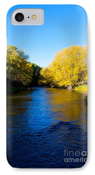 Poudre River Phone Case by Dana Kern