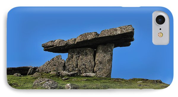 IPhone Case featuring the photograph Poulnabrone Dolmen by David Gleeson