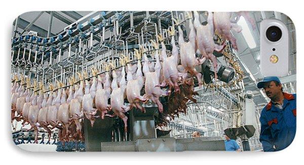 Poultry Factory Production Line Phone Case by Ria Novosti