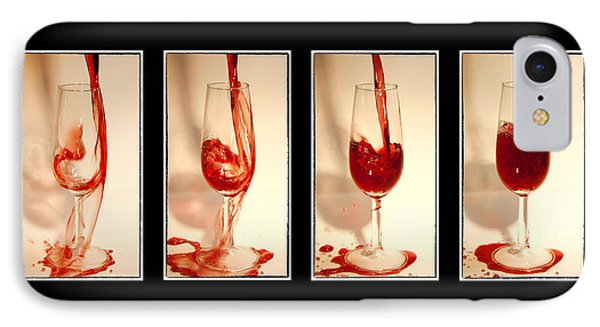 Pouring Red Wine Phone Case by Svetlana Sewell