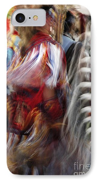 IPhone Case featuring the photograph Pow Wow Dancer by Vivian Christopher