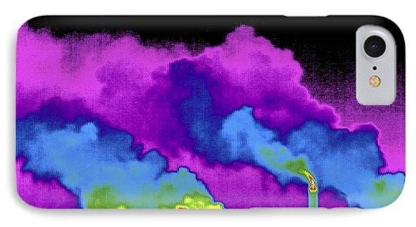 Power Station, Thermogram IPhone Case by Tony Mcconnell