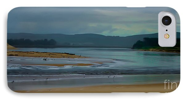 Powlett River Inlet On A Stormy Morning Phone Case by Blair Stuart