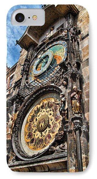 Prague Astronomical Clock Phone Case by Jon Berghoff