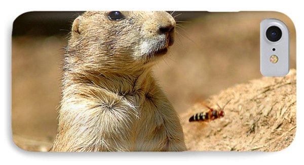 Prarie Dog Bee Alert IPhone Case by LeeAnn McLaneGoetz McLaneGoetzStudioLLCcom