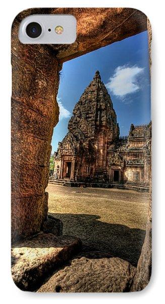 Prasat Phnom Rung Phone Case by Adrian Evans