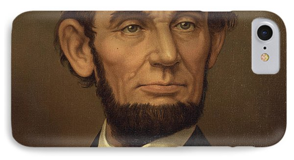 IPhone Case featuring the photograph President Of The United States Of America - Abraham Lincoln  by International  Images