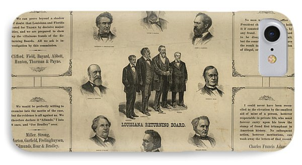 Presidential Election, 1876 Phone Case by Granger