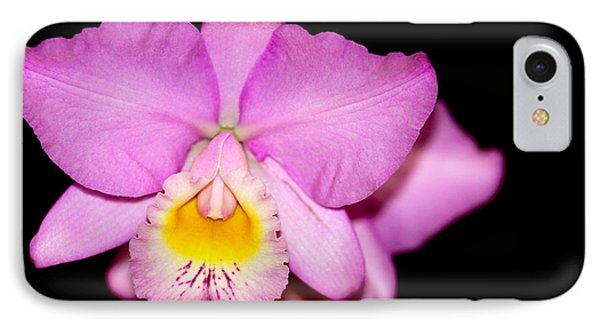 Pretty In Pink Orchid Phone Case by Sabrina L Ryan