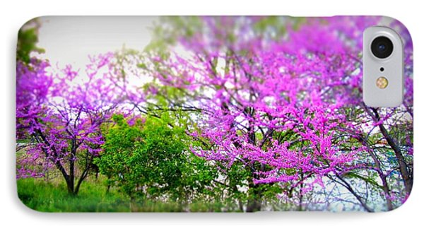 IPhone Case featuring the photograph Pretty In Pink Spring Blossoms by Danielle  Parent