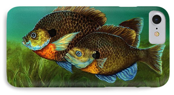 Pretty Little Panfish Phone Case by Kathleen Kelly Thompson