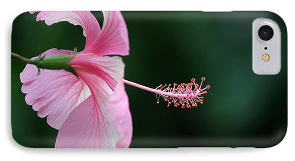 Pretty Pink Hibiscus Phone Case by Sabrina L Ryan