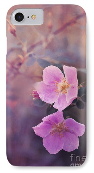 Prickly Rose Phone Case by Priska Wettstein