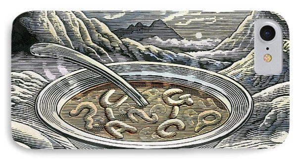 Primordial Soup Phone Case by Bill Sanderson