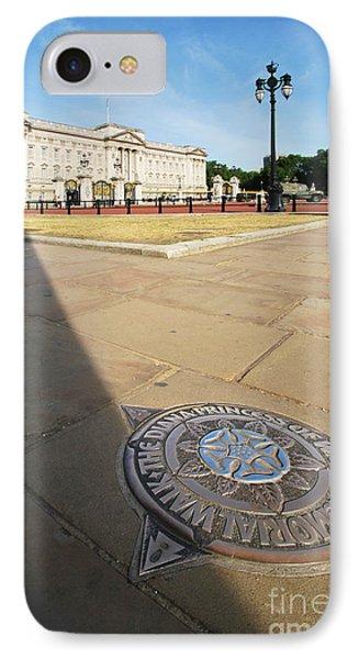 Princess Diana Memorial Walk At Buckingham Palace IPhone Case by Yhun Suarez
