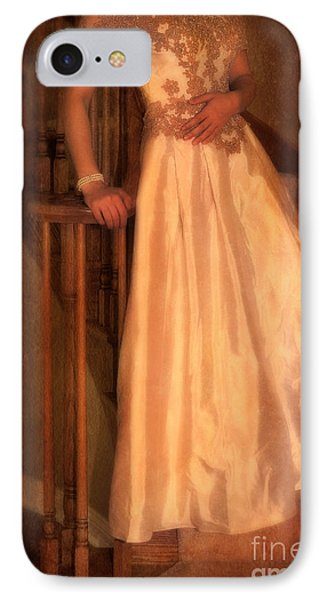 Princess On Stairway Phone Case by Jill Battaglia