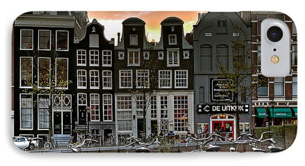 Prinsengracht 458. Amsterdam IPhone Case by Juan Carlos Ferro Duque