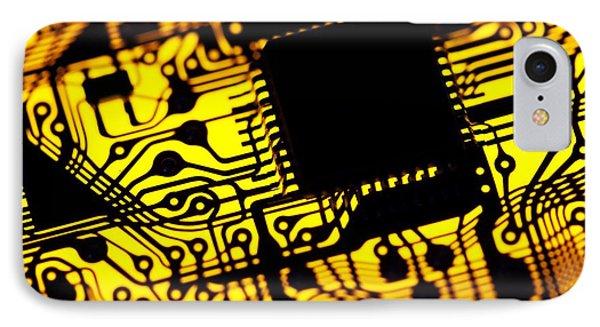 Printed Circuit Board, Artwork Phone Case by Pasieka