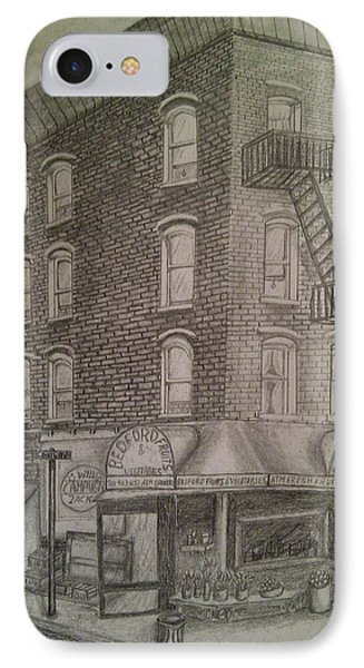 Produce Market In Brooklyn Phone Case by Irving Starr