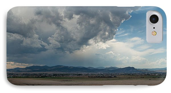 IPhone Case featuring the photograph Promises Of Rain by Fran Riley