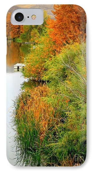 Prosser Autumn Docks Phone Case by Carol Groenen