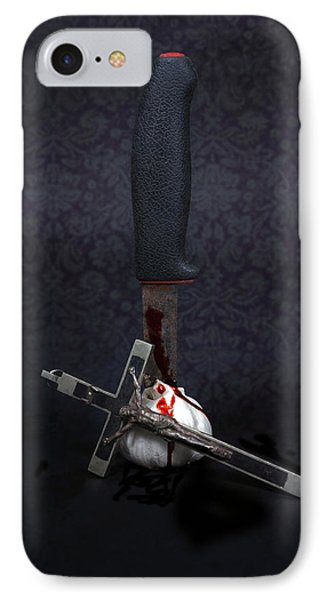 Protection Against Vampires Phone Case by Joana Kruse