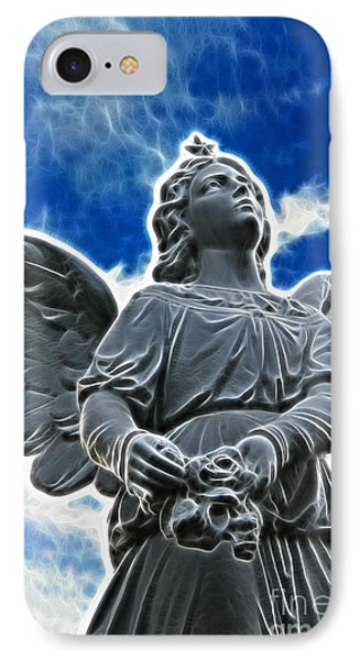 Protector Phone Case by Mariola Bitner