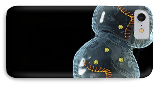 Protocell Proliferation, Artwork IPhone Case by Henning Dalhoff