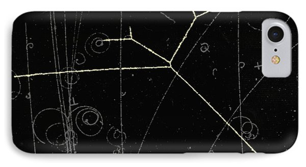 Proton Tracks Phone Case by Lawrence Berkeley National Laboratory
