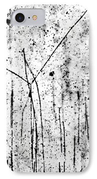 Proton/proton Collision In Photo Emulsion Phone Case by C. Powell, P. Fowler & D. Perkins