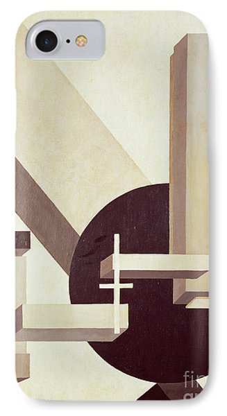 Proun 10 IPhone Case by El Lissitzky