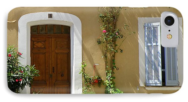 Provence Door 3 IPhone Case by Lainie Wrightson