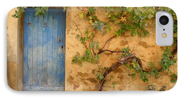 Provence Door 5 IPhone Case by Lainie Wrightson