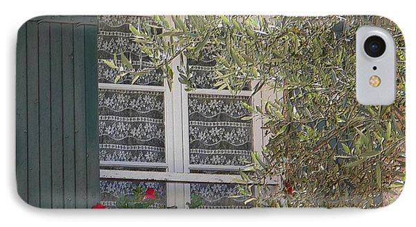 Provensale Window IPhone Case by Manuela Constantin