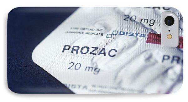 Prozac Phone Case by Cristina Pedrazzini
