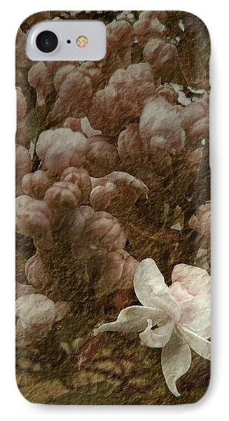 Pruning Lilacs IPhone Case by Lianne Schneider