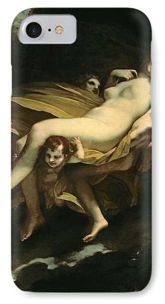 Psyche Transported To Heaven Phone Case by Pierre-Paul Prud hon