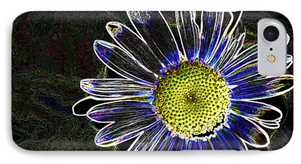 Psychedelic Daisy IPhone Case