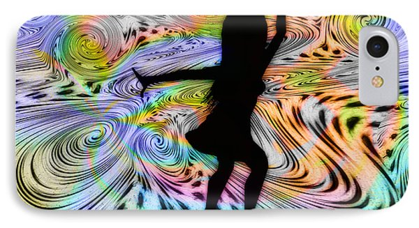 Psychedelic Dancer Phone Case by Bill Cannon