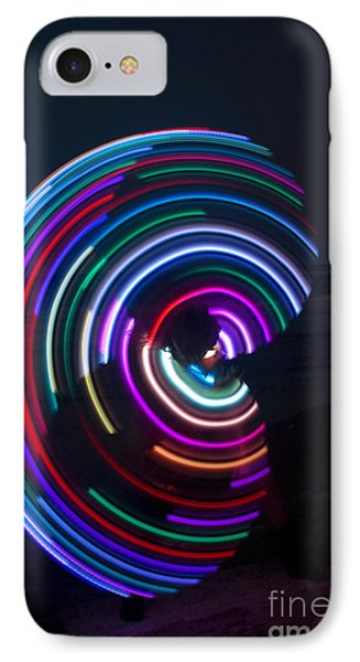 Psychedelic Hula Hoop IPhone Case