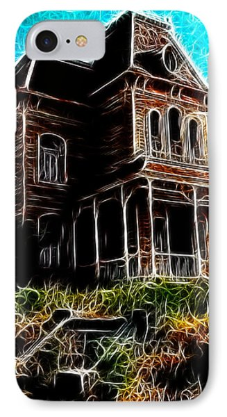 Psycho House Phone Case by Paul Van Scott
