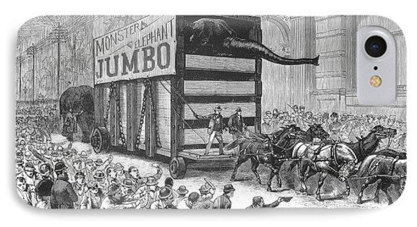 P.t. Barnum/jumbo Phone Case by Granger