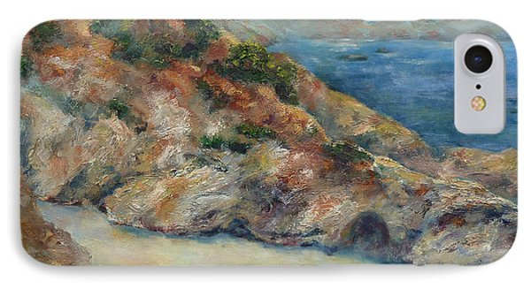 Pt Lobos View IPhone Case by Carolyn Jarvis