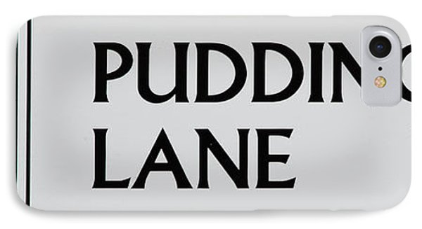 Pudding Lane Phone Case by Dawn OConnor